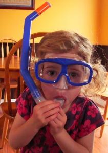 Rebecca snorkel