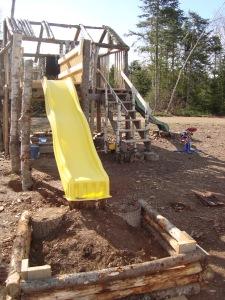 Yellow slide