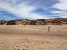 Mandatory beach exploring